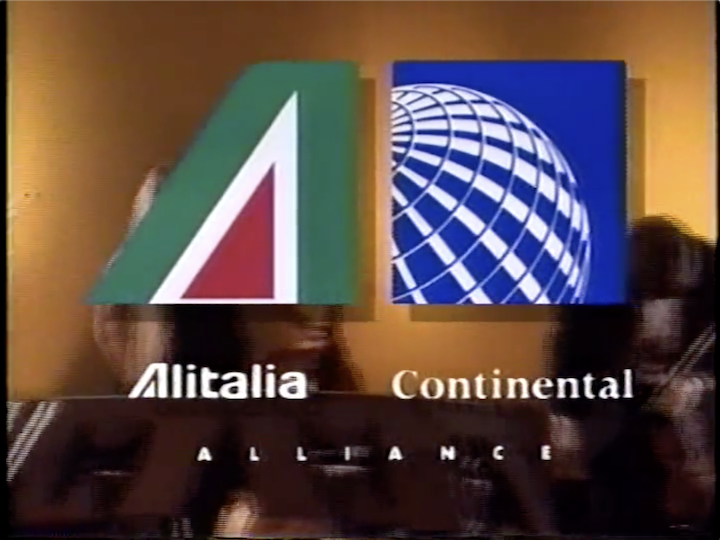 Airline Marketing - Continental Airlines & Alitalia Airlines Marketing Alliance